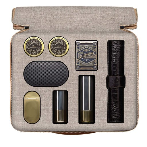 Kapitano Entertainment Bag in Beige from artemest - unusual father's day gifts