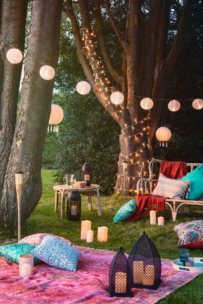 Lights4fun, Iberian Summer Collection 2018 - alfresco dining picnic style