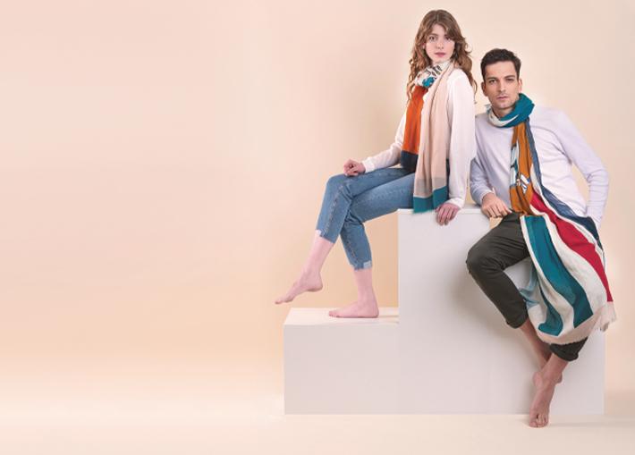unique scarves fashion accessories by pochette square