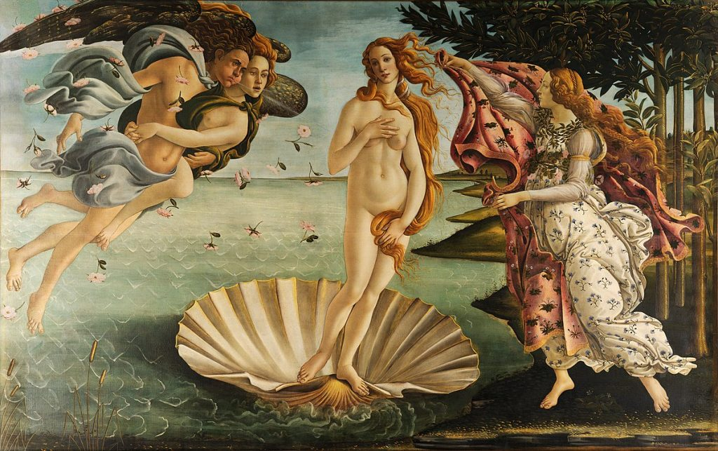 Sandro Botticelli - The Birth of Venus - La Nascita di Venere - Google Art Project - Wikimedia