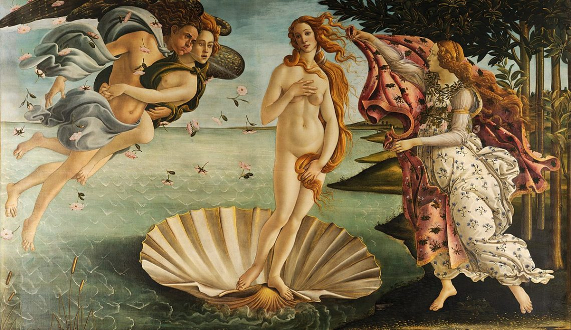 Sandro Botticelli La nascita di Venere, Birth of Venus