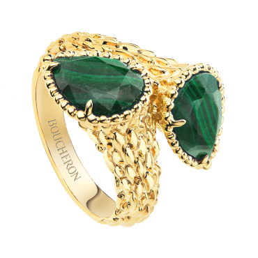 Serpent Bohème Two-Stong Ring