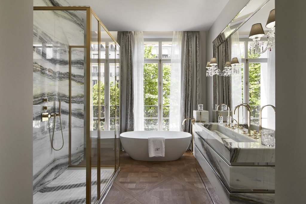 timeless bathroom design by Stephanie Coutas