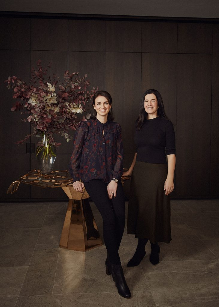 Millier co-founders and creative directors, Alexandra Nord and Helen Westlake