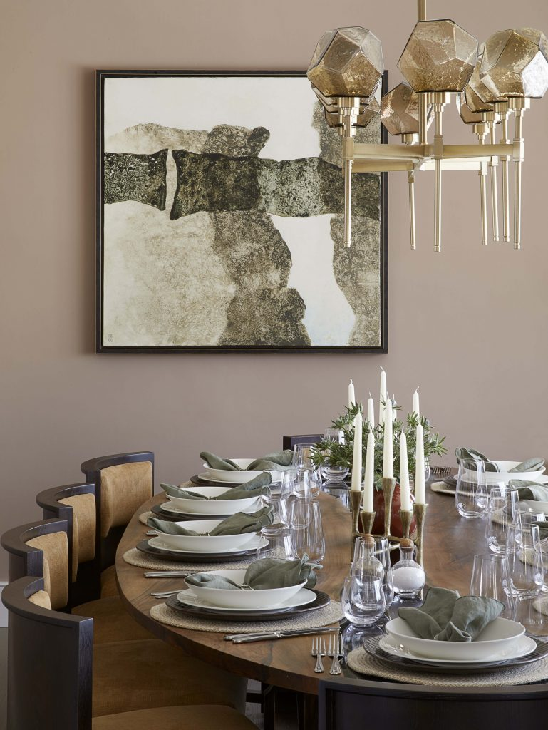 Buckinghamshire country estate dining room design by millier london