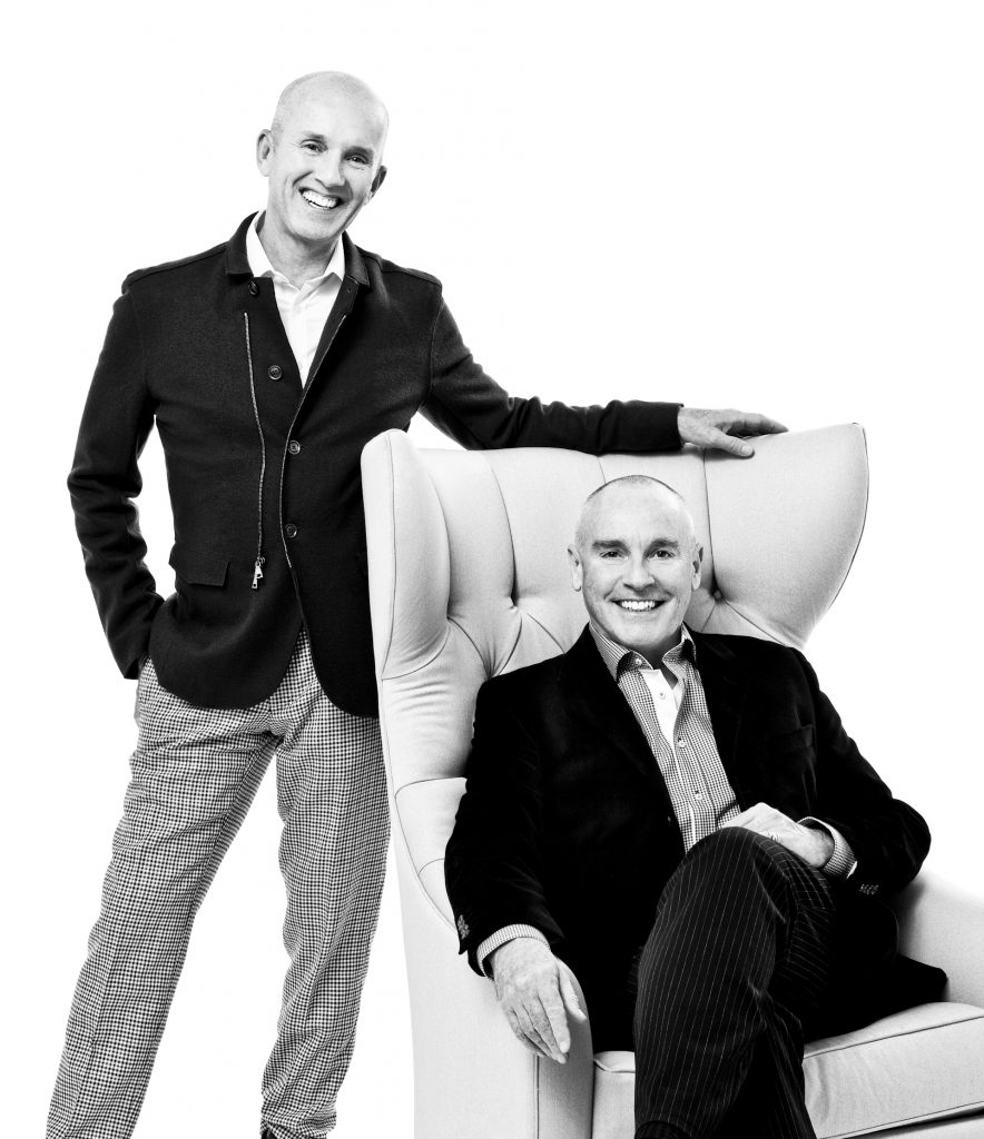 David Powell and Fenwick Bonnell, Founders - top toronto interior designers