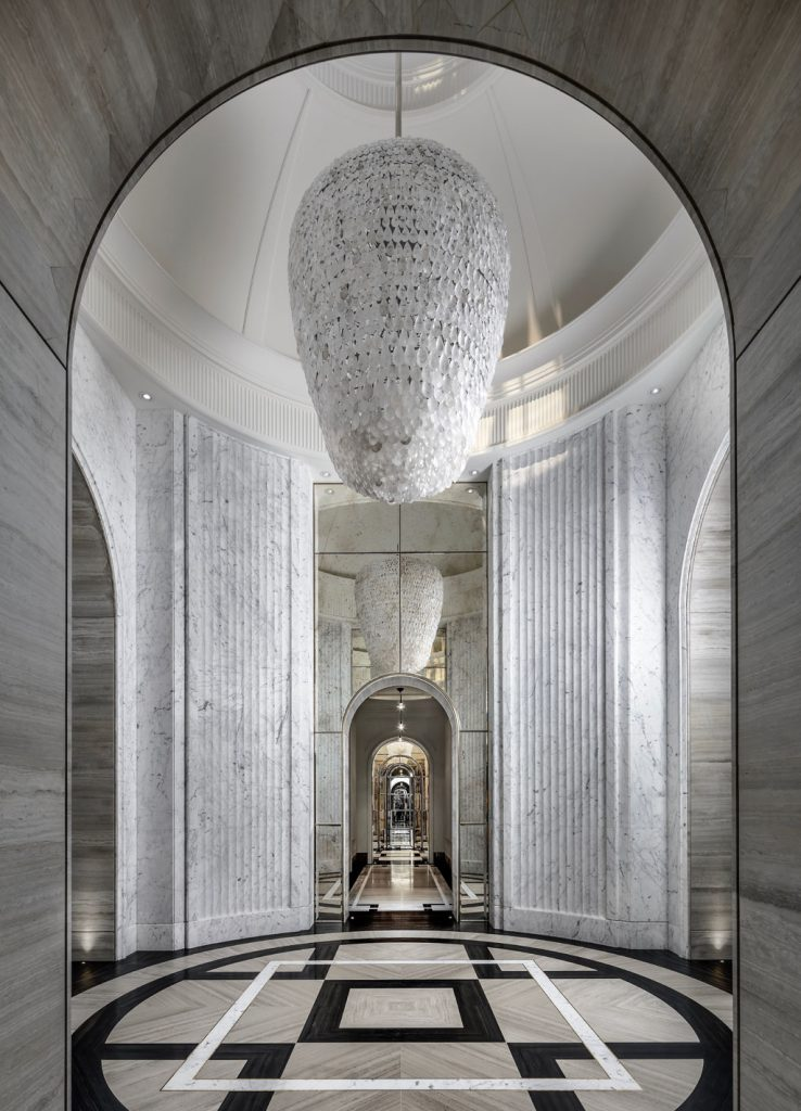 Foyer designed by Ferris Rafauli