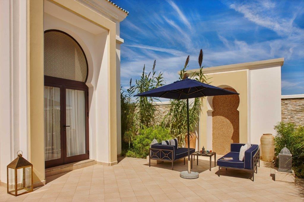 Banyan Tree Tamuda Bay Resort garden pool designed by Arjitec