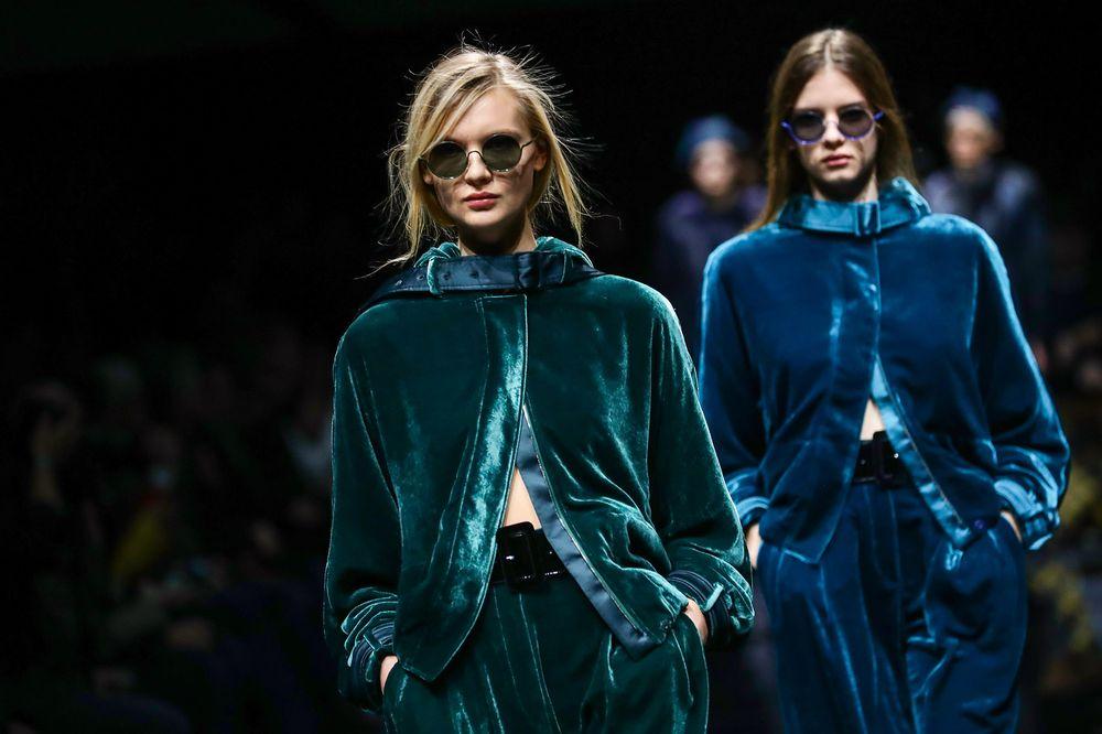 Giorgio Armani Women's Fashion Show