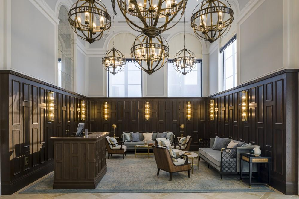Hilton Imperial Dubrovnik lobby design by Goddard Littlefair