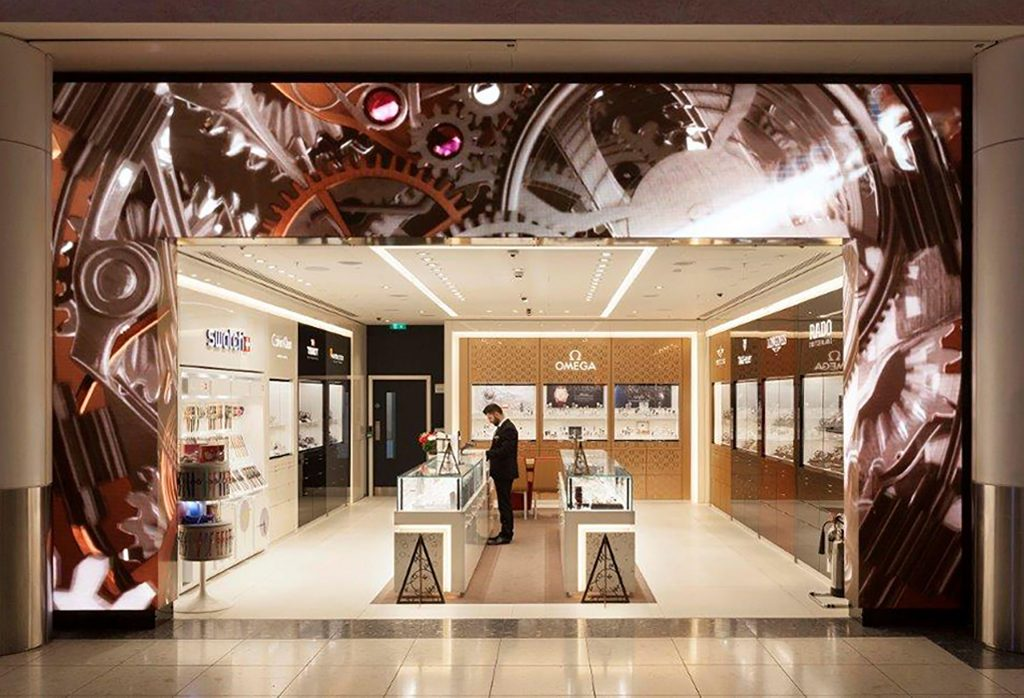 OMEGA Boutique - Gatwick Airport, Switzerland