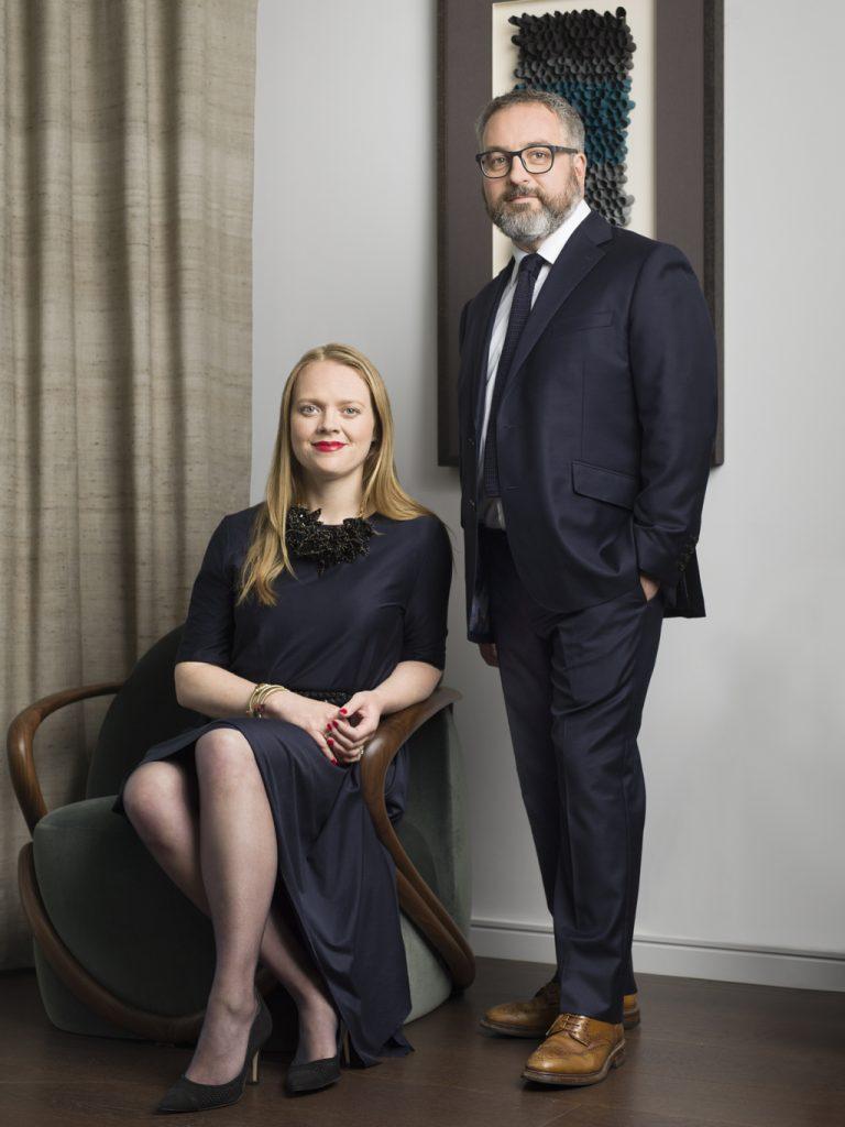 Jo Littlefair & Martin Goddard, Co-founders of Goddard Littlefair