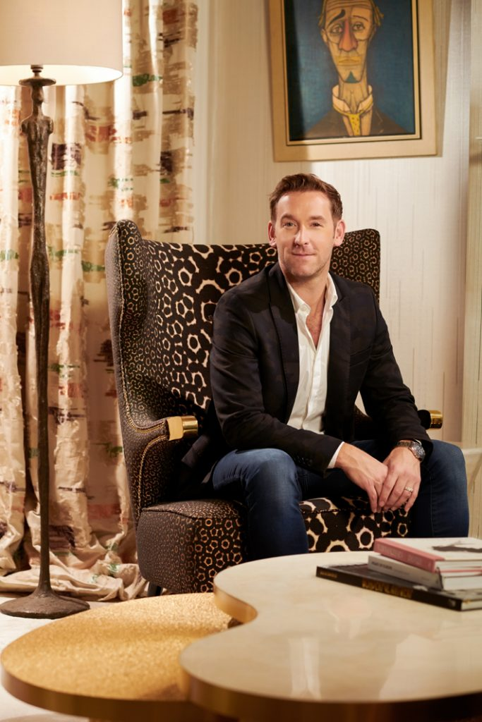 most charming male interior designers kris turnbull