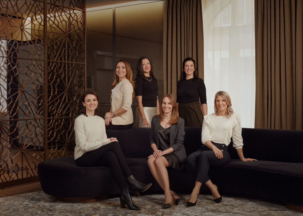 Millier's all-female management team