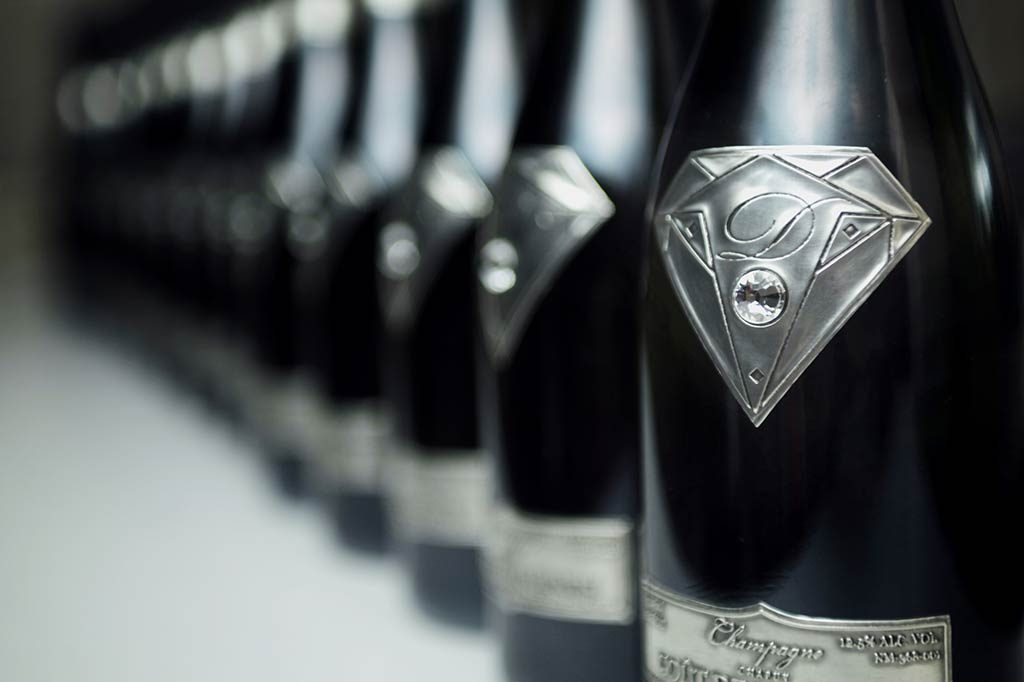2013 Goût de Diamants (Taste of Diamonds) Limited Edition Salmanazar Champagne