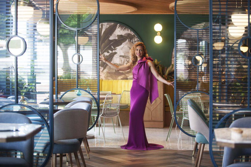 Nayra Iglesias in her Kai La Caleta restaurant design project