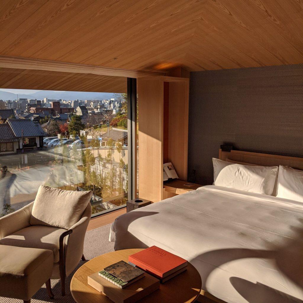 Suite at Park Hyatt Kyoto, Japan