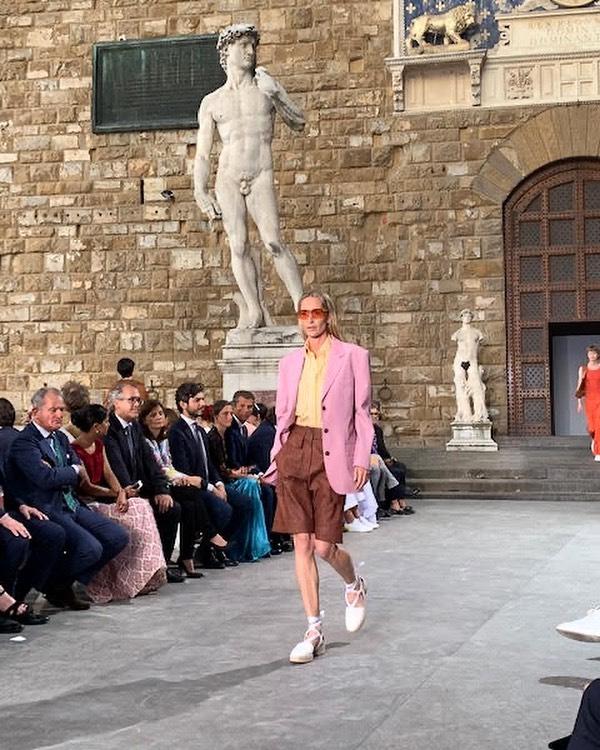 Piazza della Signora, Florence, Italy, June 2019