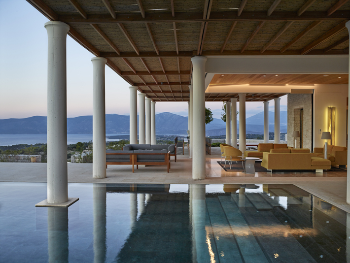 Amanzoe Villa designed by architect ed tuttle - aman resorts