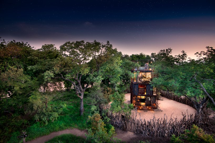Ngala Treehouse - Hotel Architectural Design