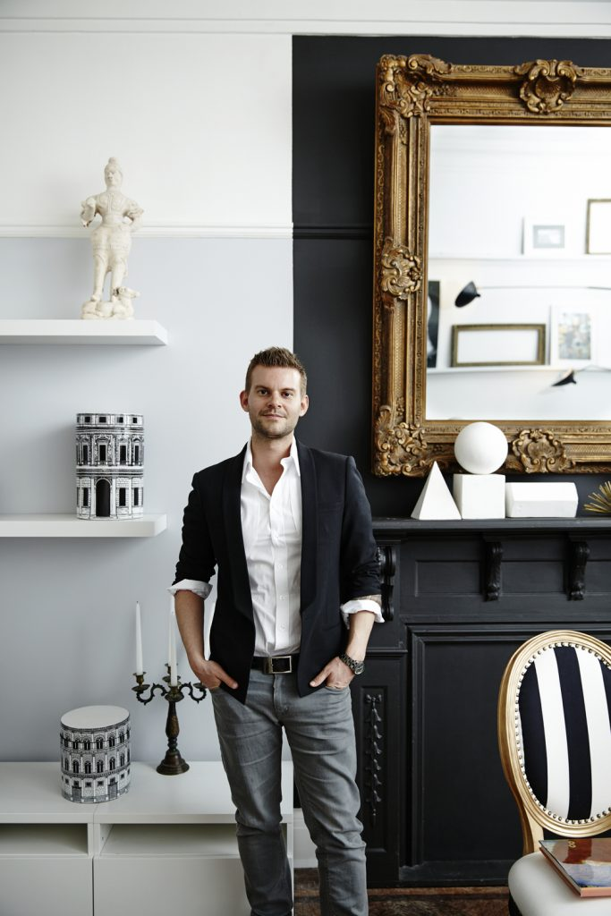 most charming male interior designers Baptiste Bohu
