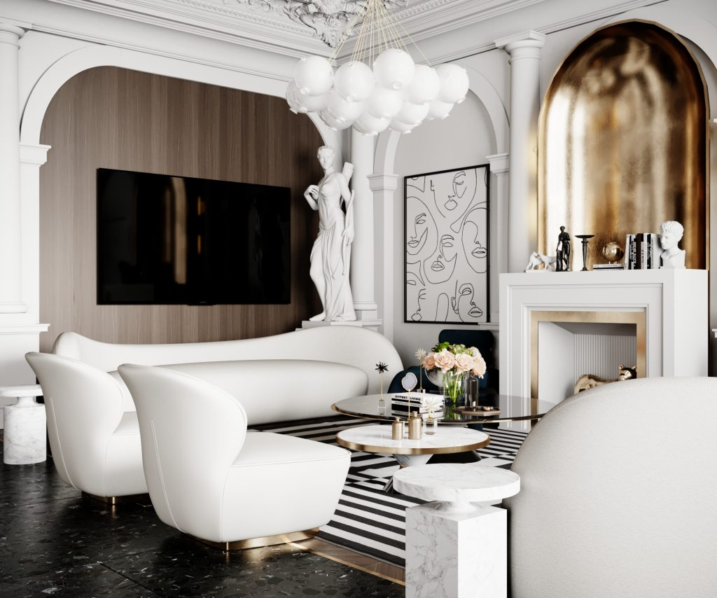 Living room Design by Ramzy Alaa