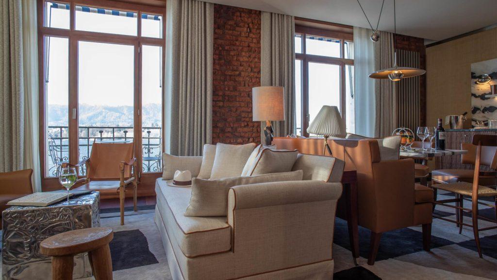 best Hotel Interior Design, AD Hotel Award Winners - Eden Suite at La Réserve Eden au Lac, in Zurich