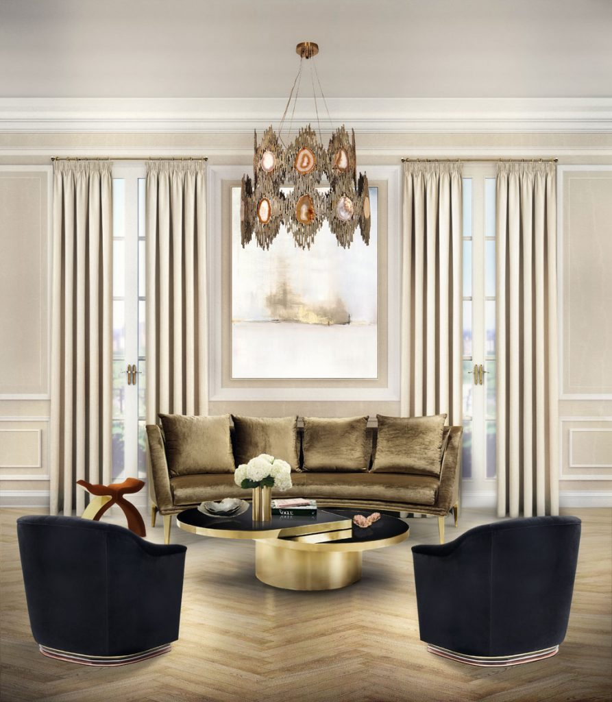koket luxury furniture - new living room ideas