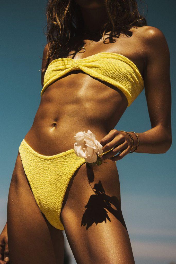 best swimwear brands - Rainbow Collection Bikini by Hunza G
