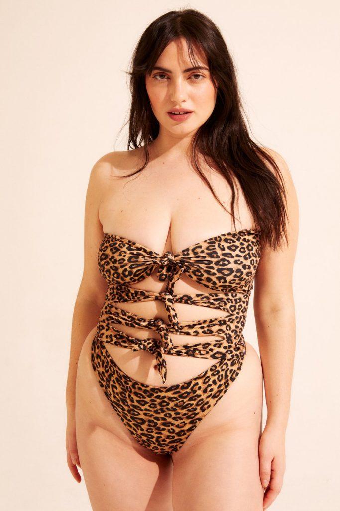 best swimwear brands - inamorata woman cardiff leopard print swimsuit