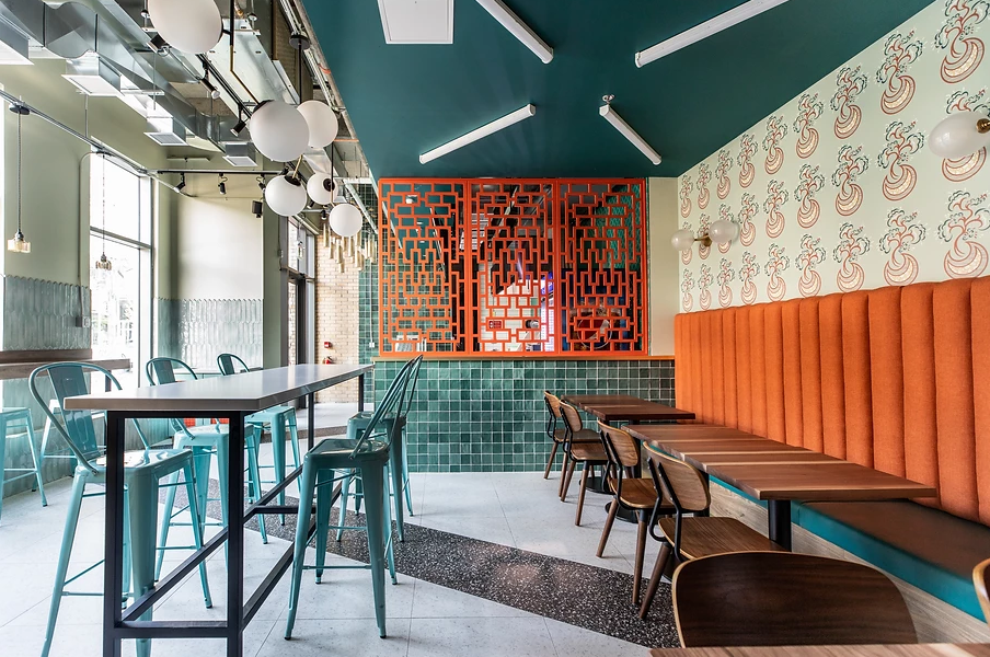 Koha restaurant design by Leventhal-Vermaat