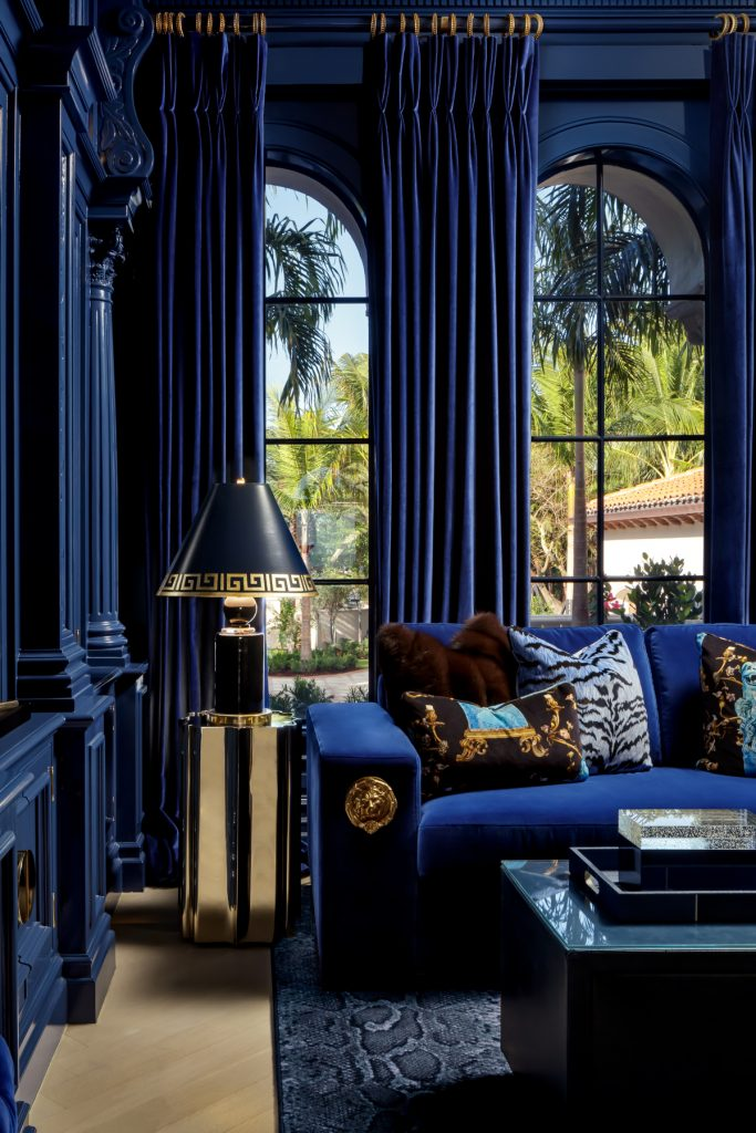 Living room design by Lori Morris