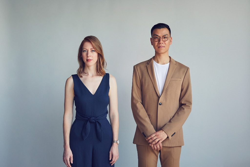 Mason Studio founders Stanley Sun and Ashley Rumsey - top toronto interior designers