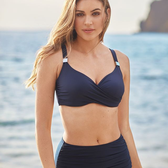 Solids Surplice Bra by Miracle Suit