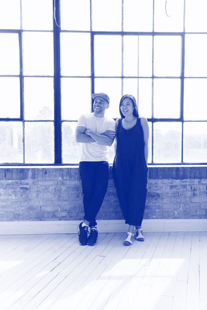 Jonathan Sabine and Jessica Nakanishi, Co-founders of MSDS Studio