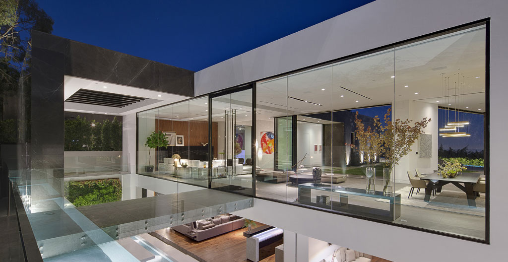 luxury contemporary home design by architect paul mcclean thrasher avenue bird streets hollywood hills la
