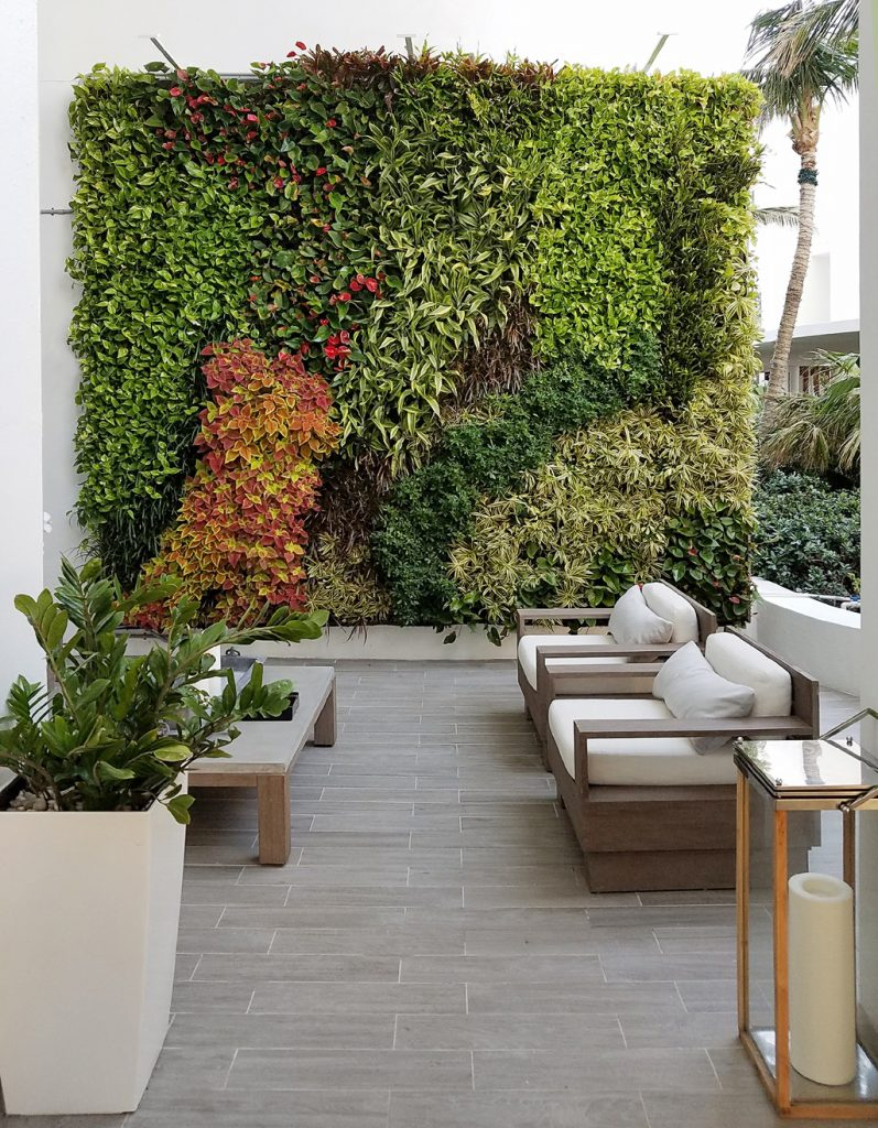 Living wall by Sage Green Life