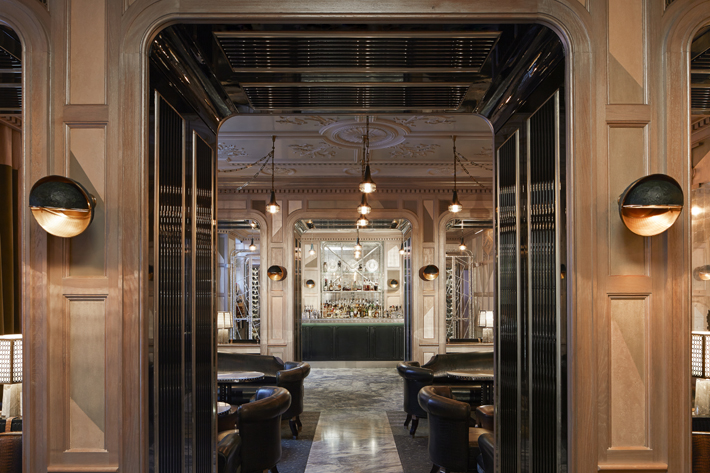 Connaught Bar london interior design by siobhan kelly