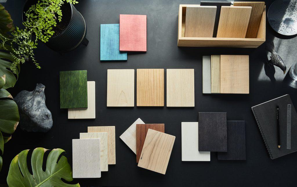 AHEC - american hardwood export council Timber Samples