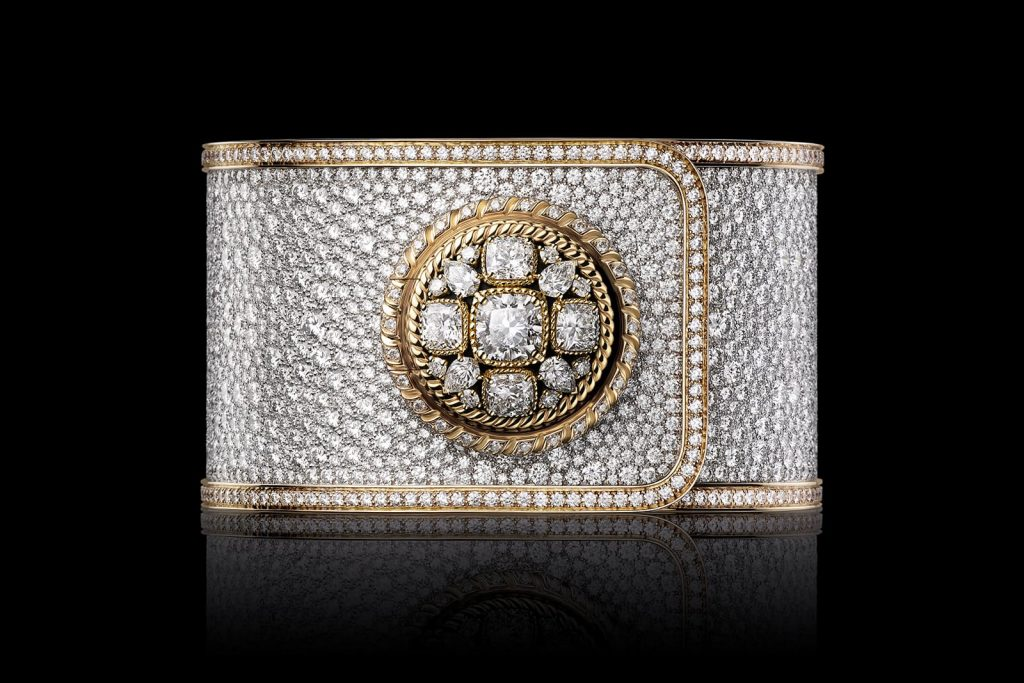 Serti Neige timepiece by Chanel