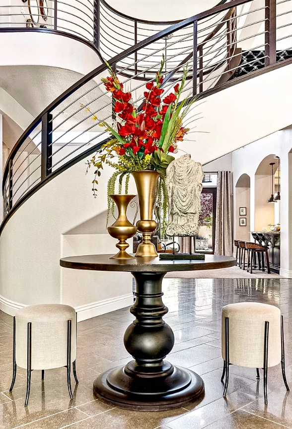 Roma Hills foyer interior design