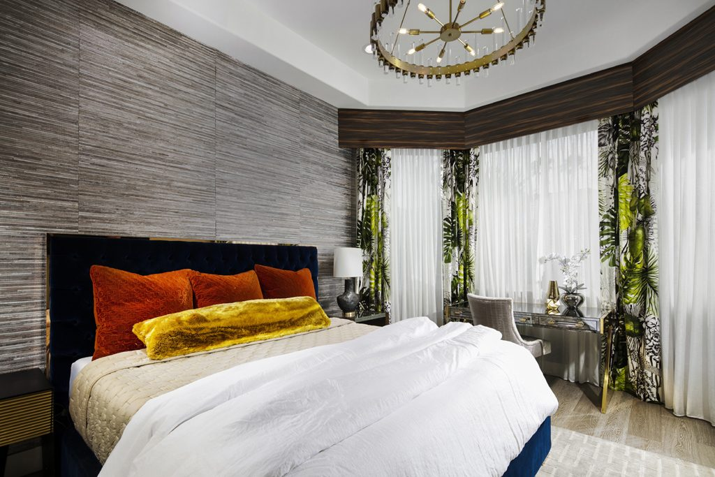 canyon gate vegas contemporary master bedroom by fabiola avelino