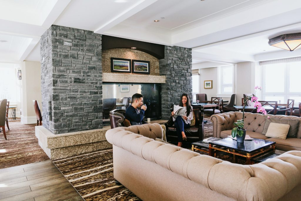 Fairmont Gold private lounge