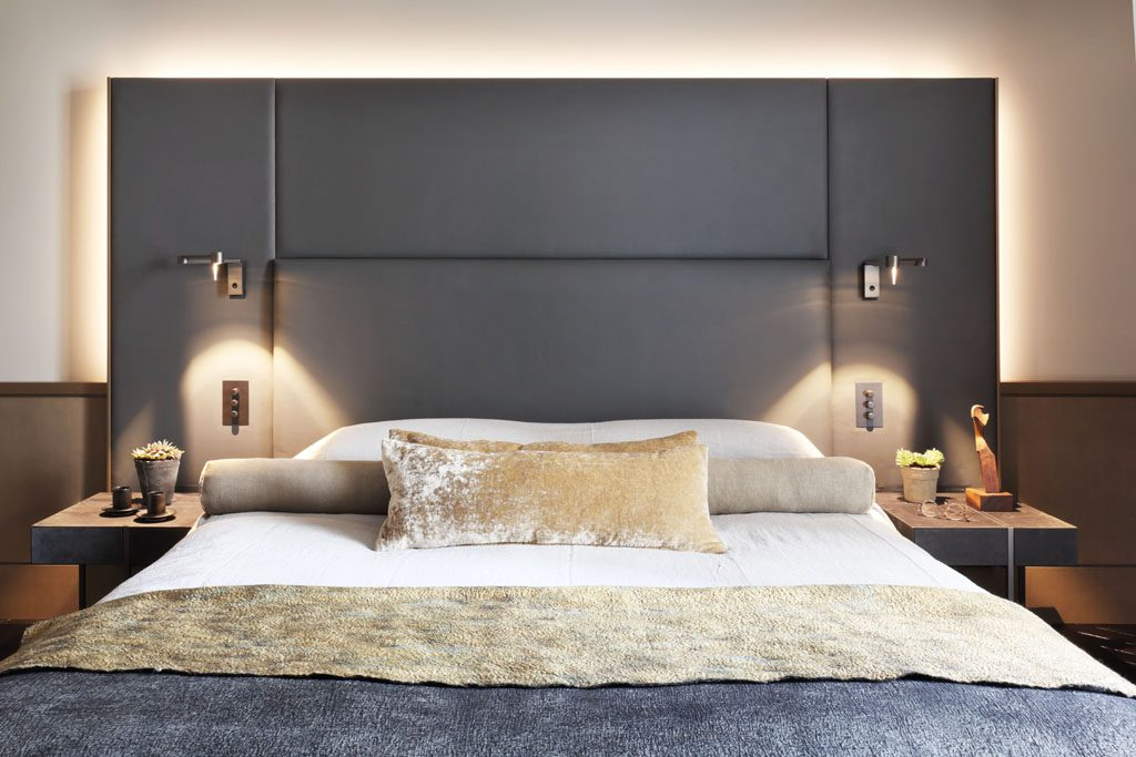 modern master bedroom design london