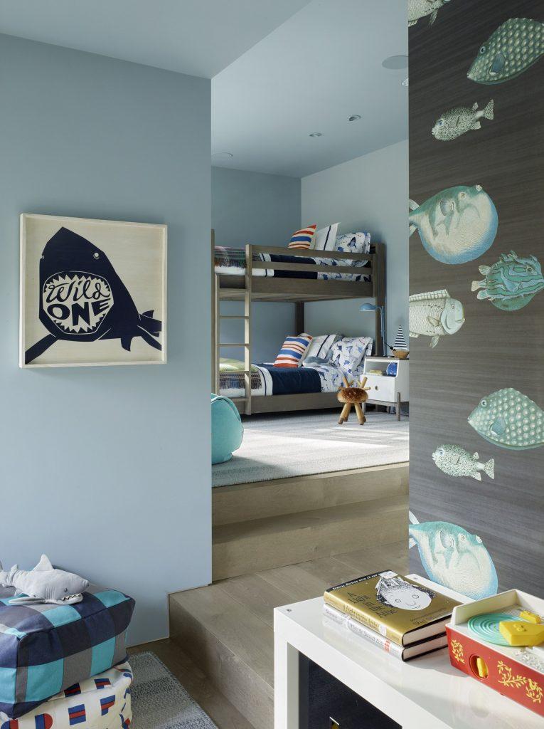 Kid's room designed by Jay Jeffers