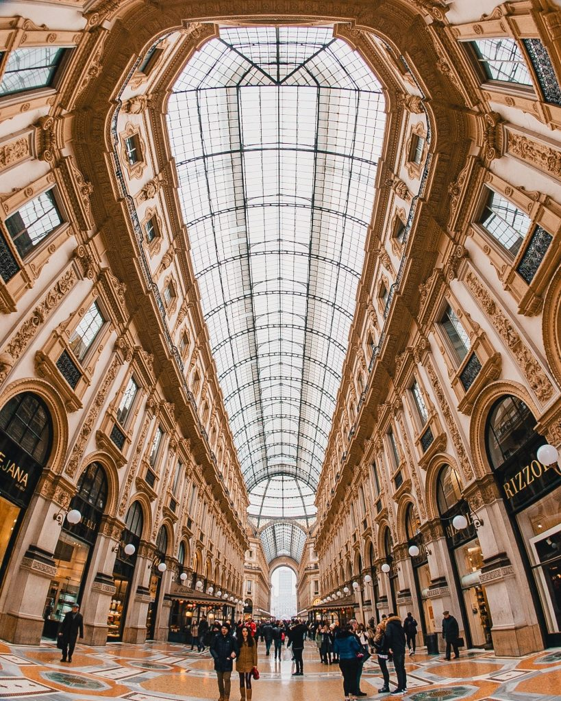 Galleria Vittorio Emanuele II, Milan italy - most luxurious cities in the world