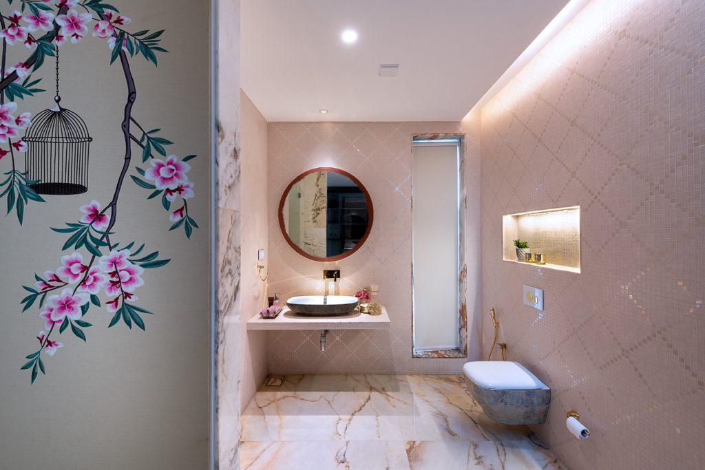 pink bathroom for girl