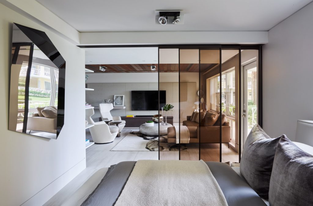 fashionable interior in Klubal home by RS3 Designs