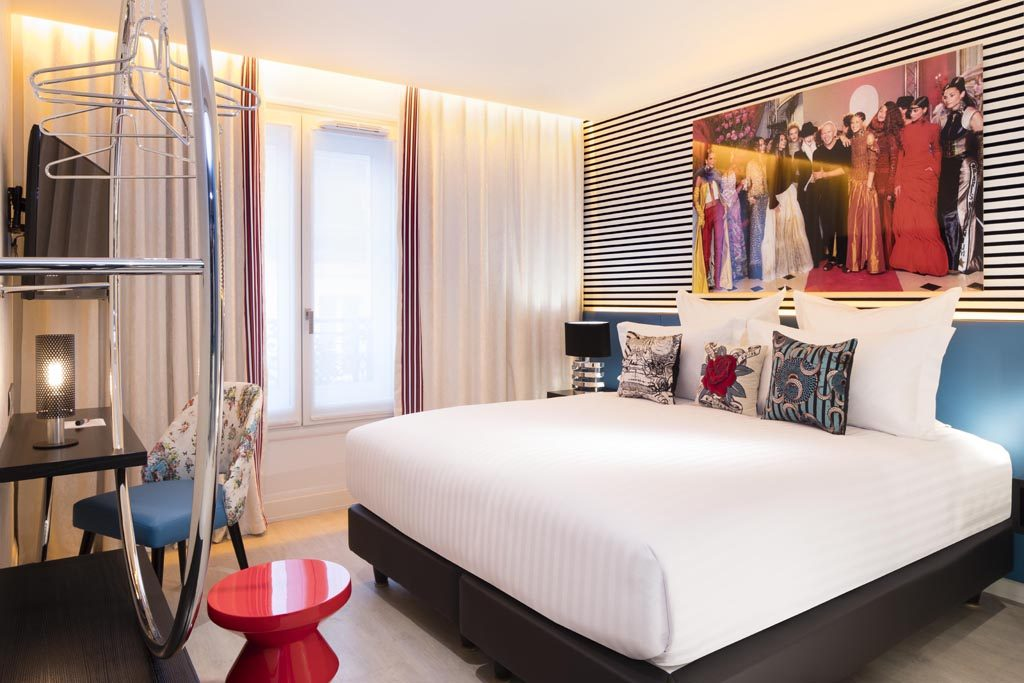 Hotel Dresscode guest room design by Stephanie Coutas