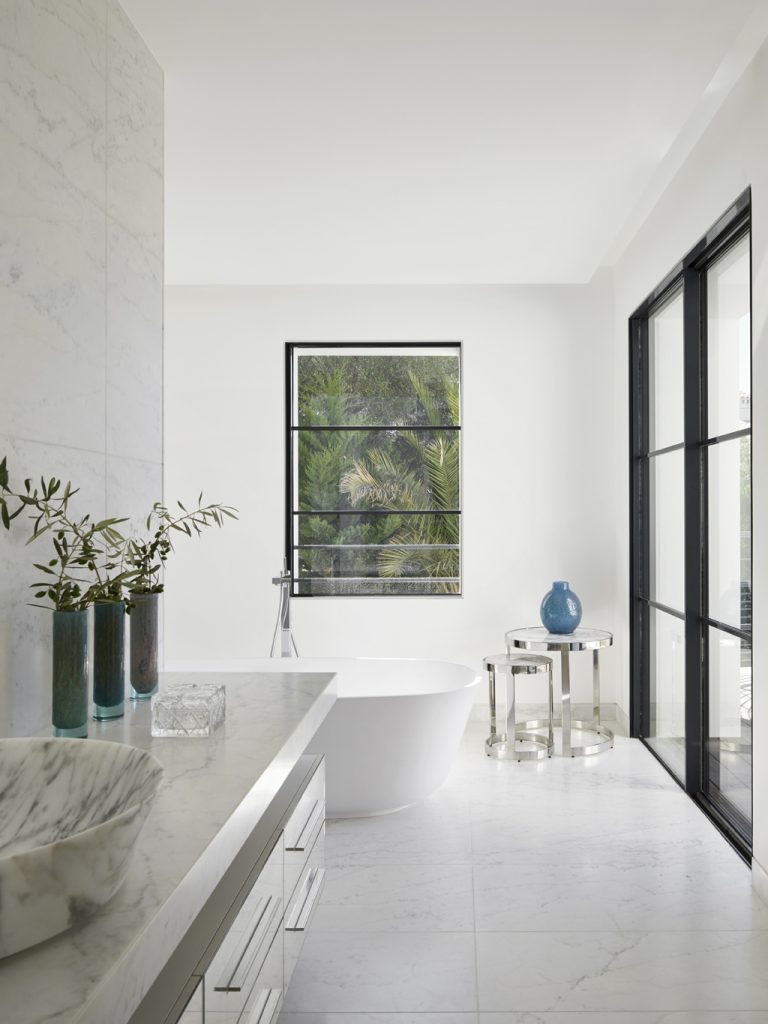bathroom trends - accessorise - Antibes bathroom design by Stephanie Coutas